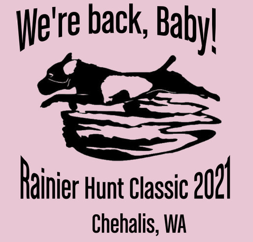 Support The Rainier Hunt Classic shirt design - zoomed