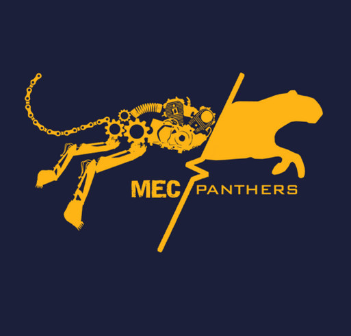 MEC Panthers shirt design - zoomed