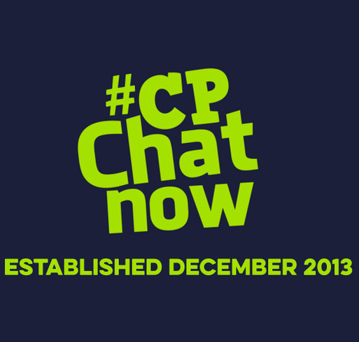 #CPChatNow Community Established December 2013 shirt design - zoomed