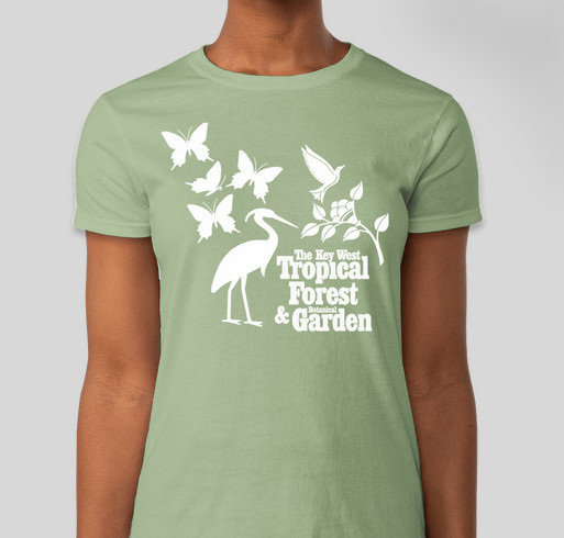 Key West Tropical Forest & Botanical Garden  Fundraiser - unisex shirt design - front