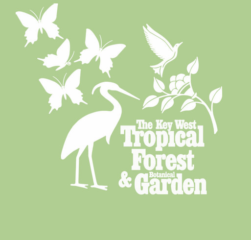 Key West Tropical Forest & Botanical Garden  shirt design - zoomed