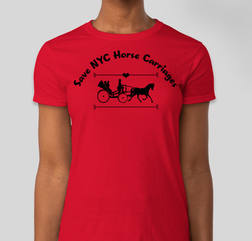 Save Nyc Horse Carriages Custom Ink Fundraising