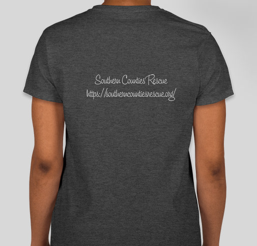 Southern Counties Rescue Kitten Season Fundraiser 2020 Fundraiser - unisex shirt design - back