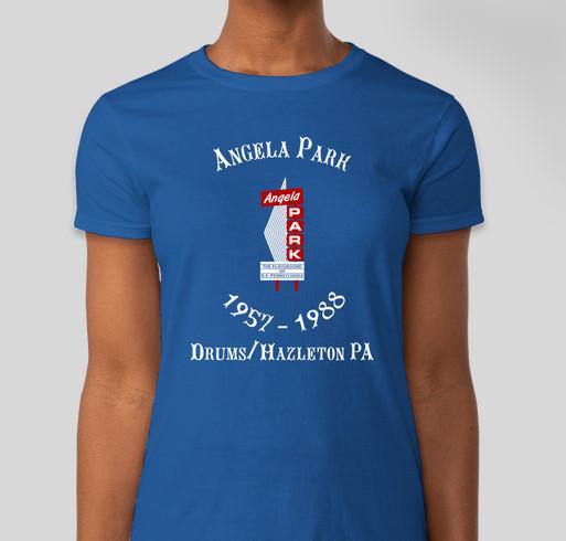 Angela Park Commemorative T-Shirts Fundraiser - unisex shirt design - front