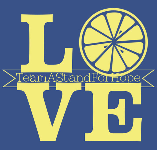 Team A Stand For Hope shirt design - zoomed