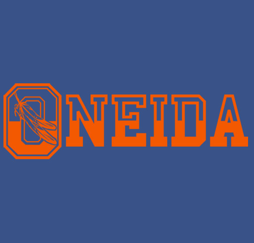 Show your Oneida Pride shirt design - zoomed