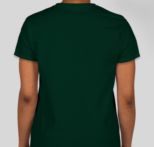 City of Dunedin Pipe Band St Patrick's Day T-Shirts Fundraiser - unisex shirt design - back