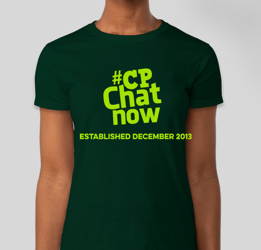 #CPChatNow Community Established December 2013 Fundraiser - unisex shirt design - front