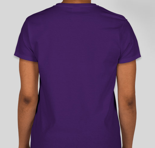 Ladies of Lupus Fundraiser - unisex shirt design - back