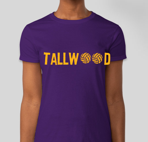 d62bc7429 Tallwood volleyball spirit shirts - buy a shirt to support the team!  Fundraiser - unisex