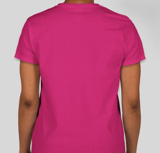 Lymphie Strong Awareness Storm Fundraiser - unisex shirt design - back