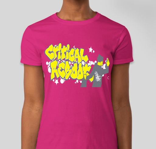 Critical Reboot Limited Edition T-Shirt Fundraiser - unisex shirt design - front