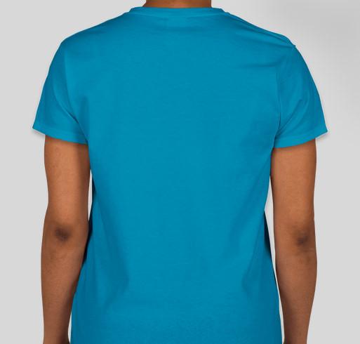 Have No Fear, A Teacher Is Here! Fundraiser - unisex shirt design - back