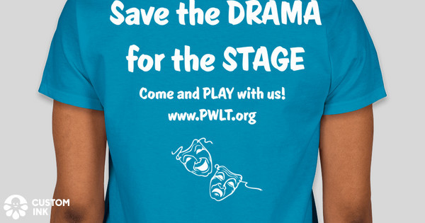 Prince william little theatre t shirt fundraiser 2017 for Custom t shirts under 5 dollars