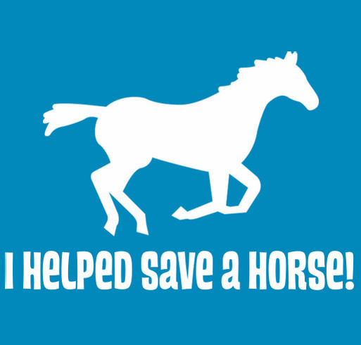 Neeley's Equine Rescue Fund shirt design - zoomed