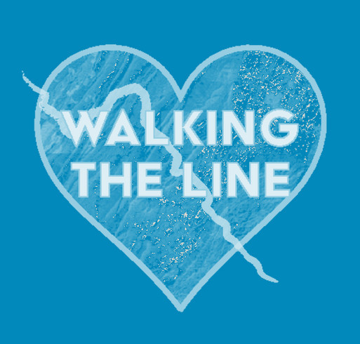 Walking the Line into the Heart of Virginia ... June 17 to July 2, 2017 shirt design - zoomed