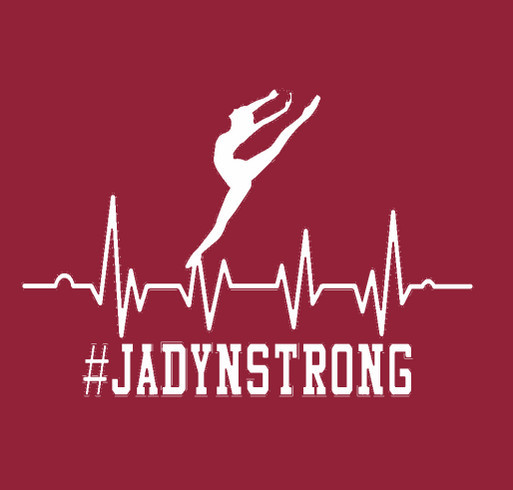 #JadynStrong shirt design - zoomed