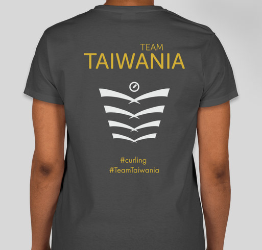 Team Taiwania Fundraising Fundraiser - unisex shirt design - back