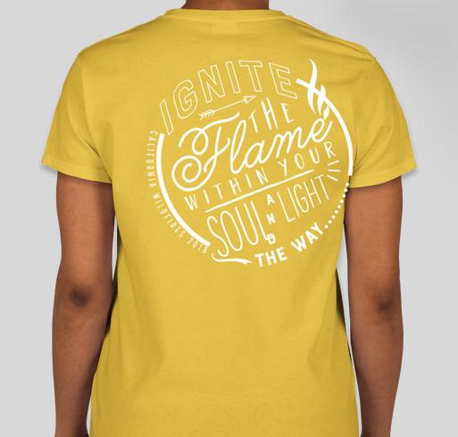 California Wildfire Relief: American Red Cross Fundraiser - unisex shirt design - back