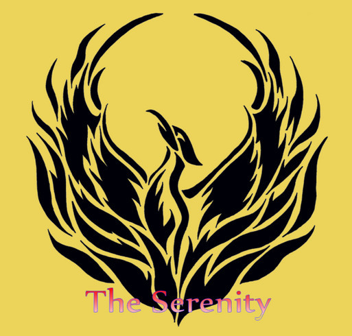The Serenity Women's shirt design - zoomed