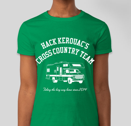 Hack Kerouac's Cross Country Fundraiser Fundraiser - unisex shirt design - front