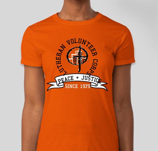 LVC 40TH ANNIVERSARY Fundraiser - unisex shirt design - front