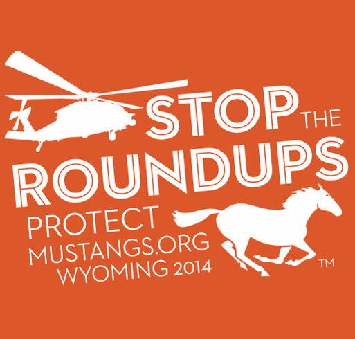 Protect Mustangs shirt design - zoomed