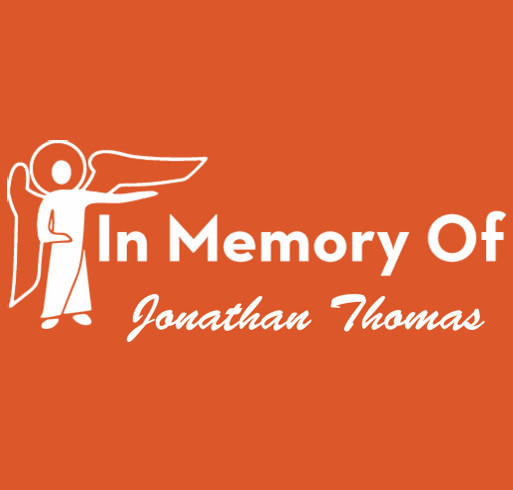 Never Forget Jonathan Thomas  shirt design - zoomed