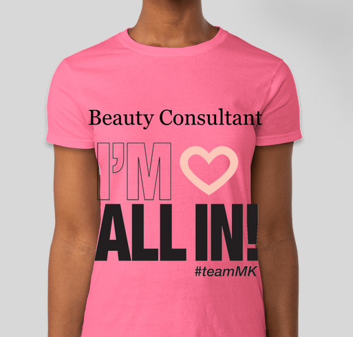 Beauty consultant t shirts custom ink fundraising for Custom t shirts under 5 dollars