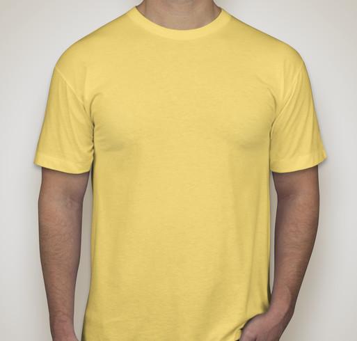 American Apparel 50/50 T-shirt - Neon Yellow