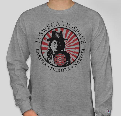 Lakota Dakota Nakota Summit Gear Fundraiser - unisex shirt design - front