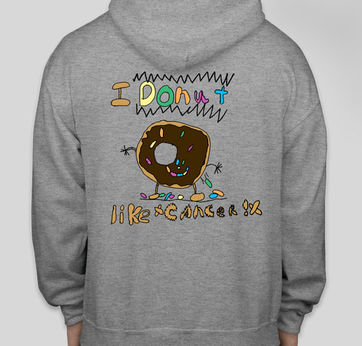 Donuts and Cheese Pizza Fundraiser - unisex shirt design - front