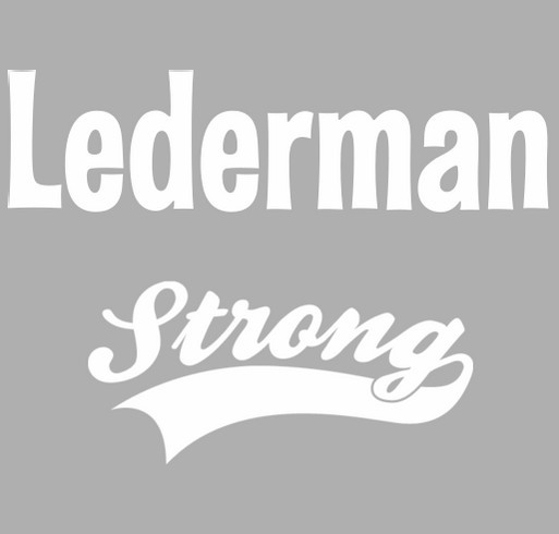 Lederman Strong shirt design - zoomed