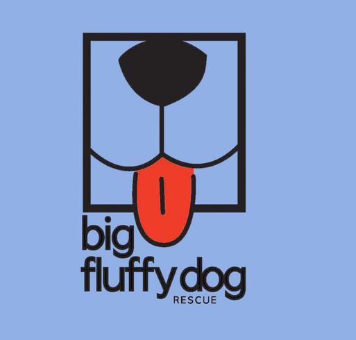 Big Fluffy Dog Rescue BadA$$ Hoodies shirt design - zoomed