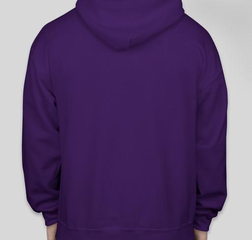 """A Place To Bark"" Fundraiser - unisex shirt design - back"