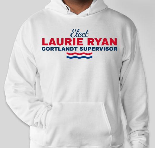 RYAN FOR CORTLANDT SUPERVISOR Fundraiser - unisex shirt design - front