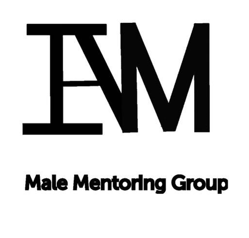 I Am Male Mentoring Group Fundraiser shirt design - zoomed