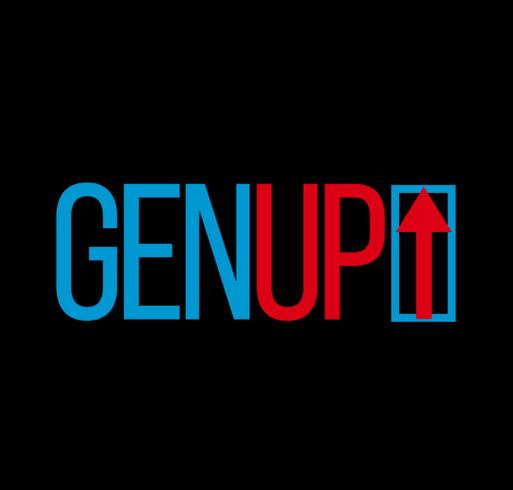 GENup shirt design - zoomed