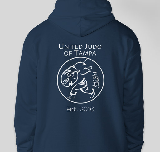 United Judo of Tampa - You want this hoodie! Fundraiser - unisex shirt design - back
