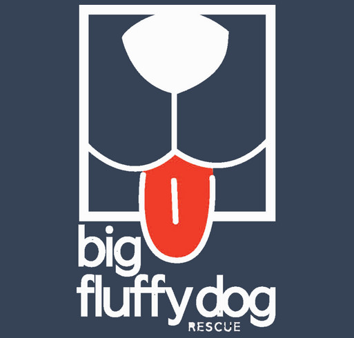 Big Fluffy Dog Kraken Design shirt design - zoomed