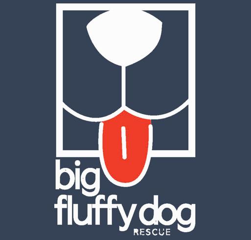 Big Fluffy Dog-Fix Your Dog shirt design - zoomed