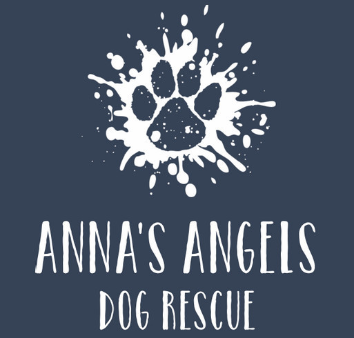Anna's Angels Dog Rescue shirt design - zoomed