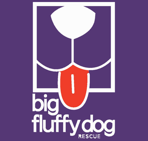 Big Fluffy Dog Rescue Logo Hoodies shirt design - zoomed
