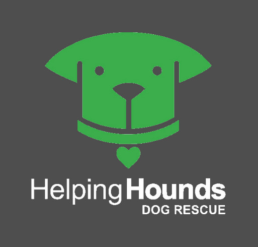 Helping Hounds Fall Apparel shirt design - zoomed