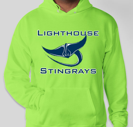 Lighthouse PCA Spirit Hoodies Fundraiser - unisex shirt design - front