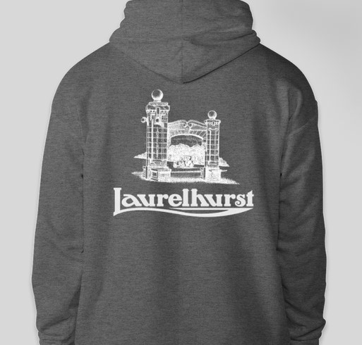 Historic Laurelhurst Fundraiser - unisex shirt design - back