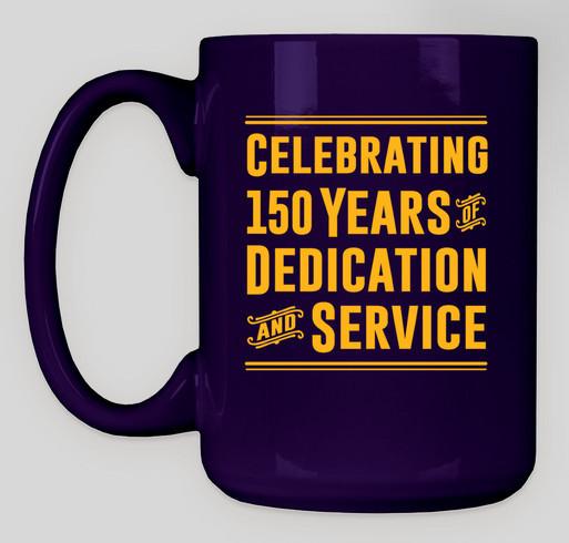 Philadelphia Fire Department 150th Anniversary Mug Fundraiser - unisex shirt design - back