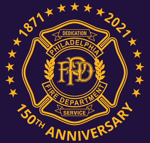 Philadelphia Fire Department 150th Anniversary Mug shirt design - zoomed