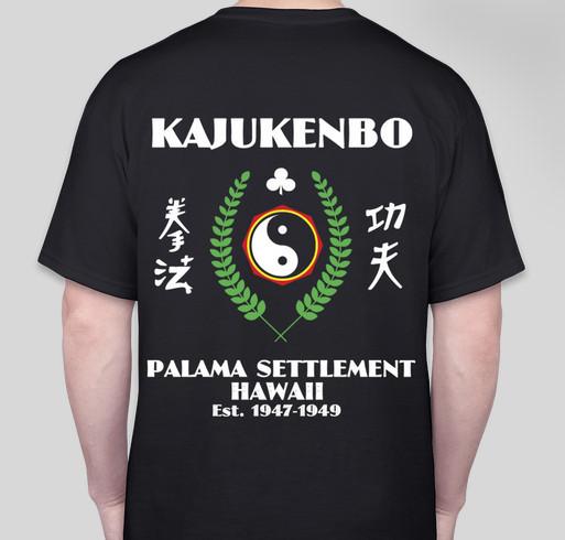 Kajukenbo Shirt Fundraiser Fundraiser - unisex shirt design - small - back