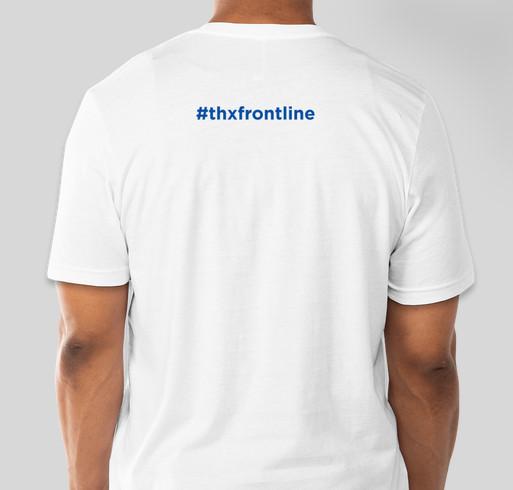 THX Frontliners Fundraiser - unisex shirt design - back